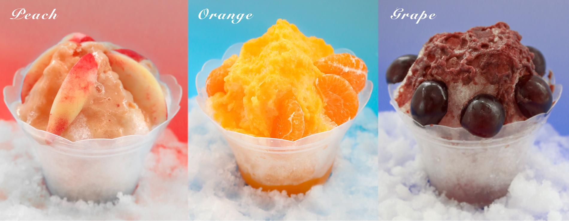 TOYOのフルーツかき氷